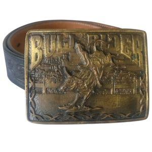🇨🇦 Authentic Montana Silversmith buckle belt